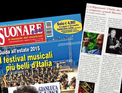 I clarinetti L.A. Ripamonti fanno notizia su Suonare News