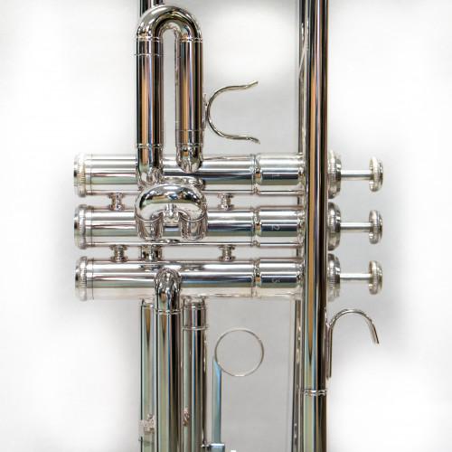 Tromba argento profilo