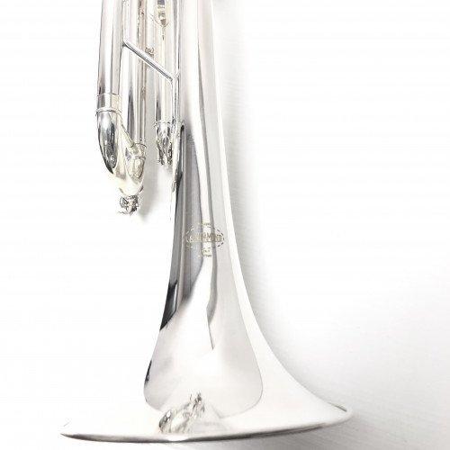 """6020 - Tromba Sib. L.A.RIPAMONTI """"MASTER"""" Argentata campana per galleria"""