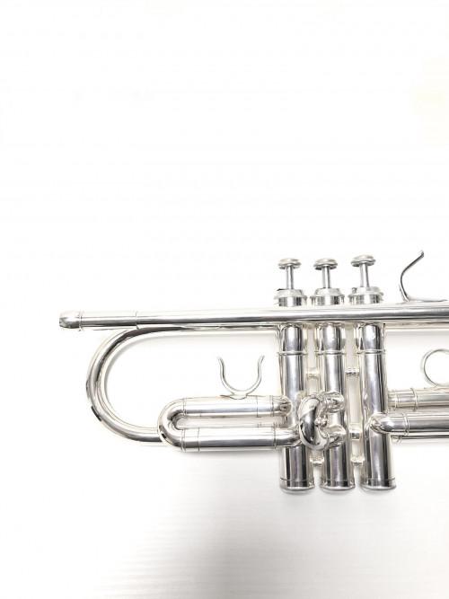 """6020 - Tromba Sib. L.A.RIPAMONTI """"MASTER"""" Argentata pistoni per galleria"""