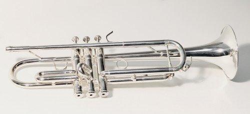 """6020 - Tromba Sib. L.A.RIPAMONTI """"MASTER"""" Argentata immagine articolo"""