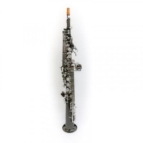 Sax soprano black/silver