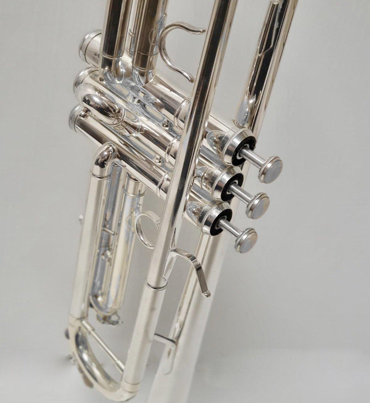"""6020 - Tromba Sib. L.A.RIPAMONTI """"MASTER"""" Argentata macchina per galleria"""