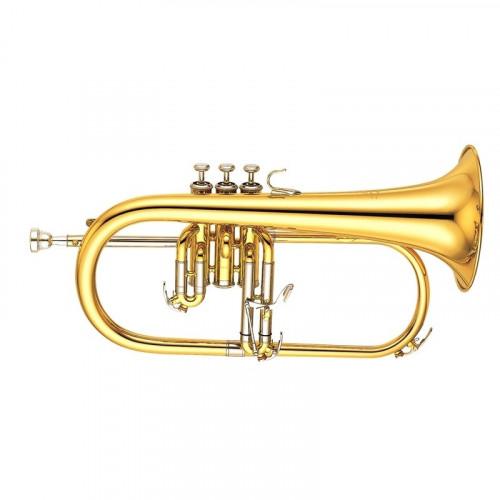 YFH631G Flicorno soprano Sib.