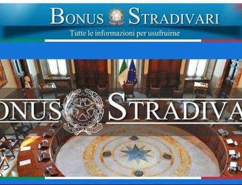 Bonus Stradivari 2018