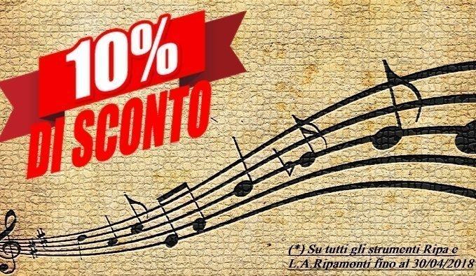 10% sconto su Ripa e LA RIPAMONTI