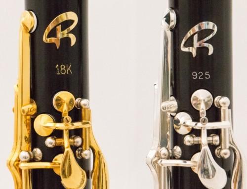 Presentati i clarinetti Gold 18K e Silver 925 – Musikmesse Francoforte