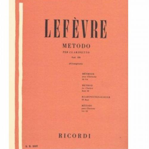 Lefèvre per clarinetto 3
