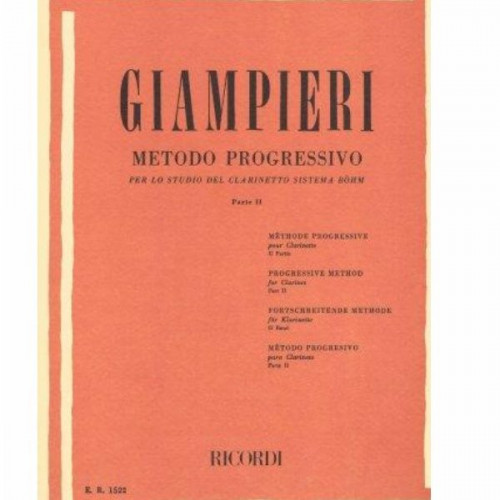 Giampieri per clarinetto volume 2