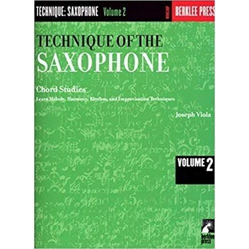 Technique of the saxophone 2