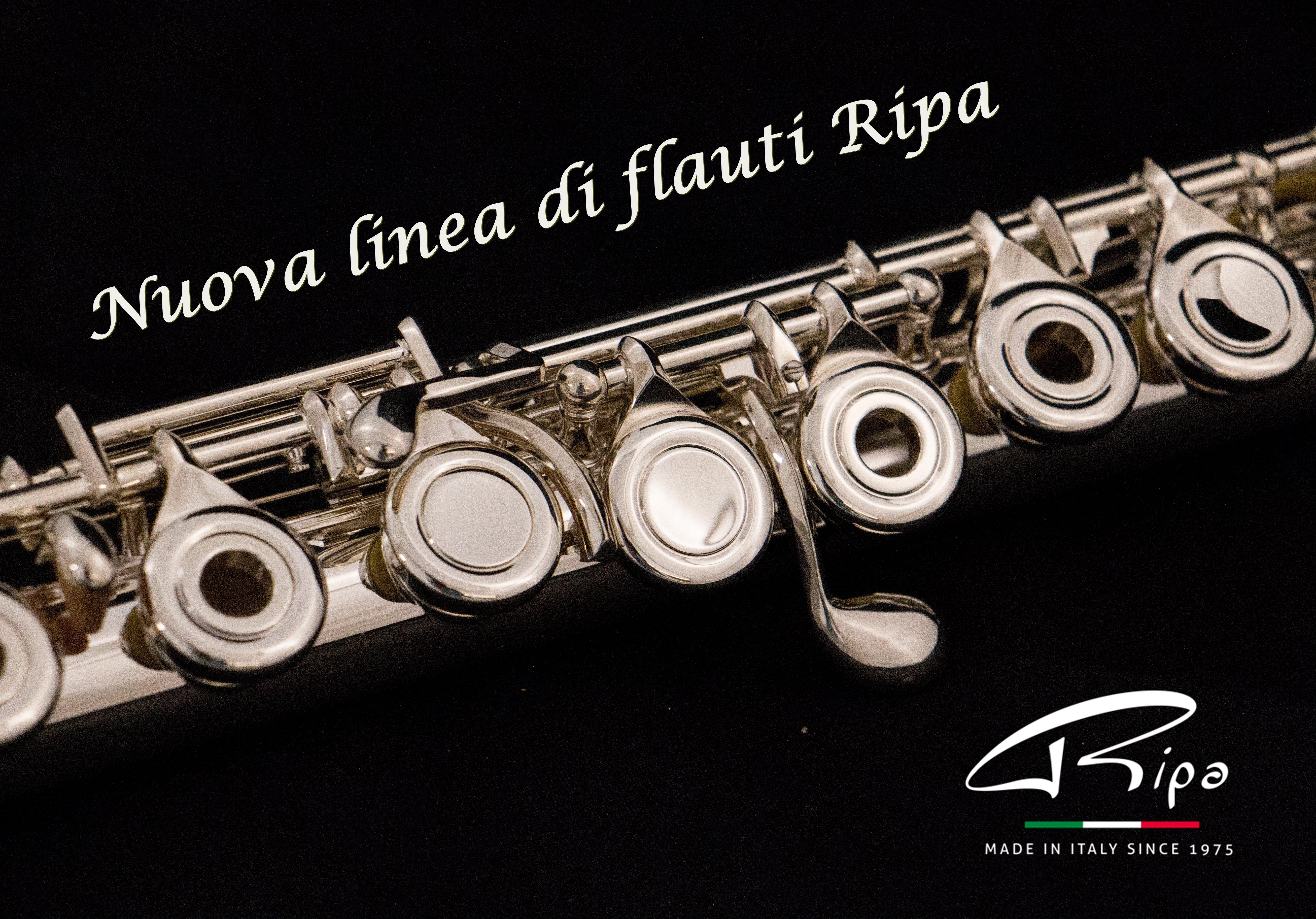 NUOVA LINEA FLAUTI RIPA MUSIC
