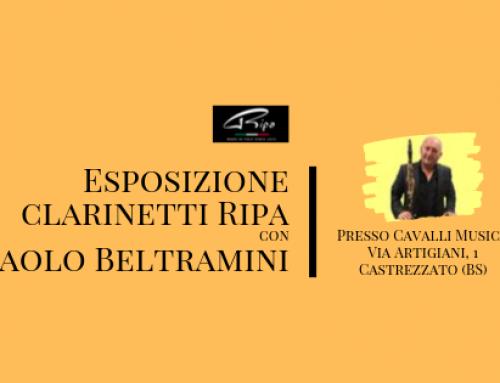Esposizione clarinetti Ripa presso Cavalli Musica
