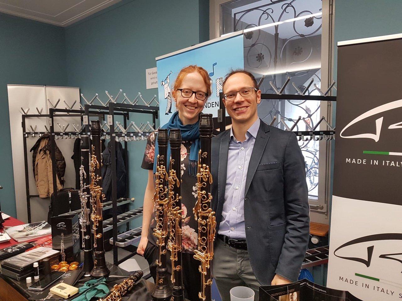Berna esposizione clarinetti